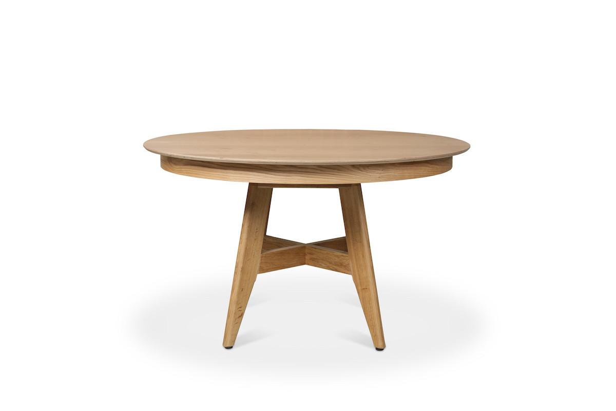 שולחן אוכל עגול קרוס -3980 שח
