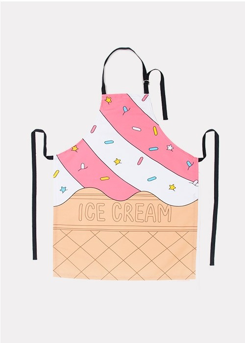 סינר גלידה - ICECREAM APRON