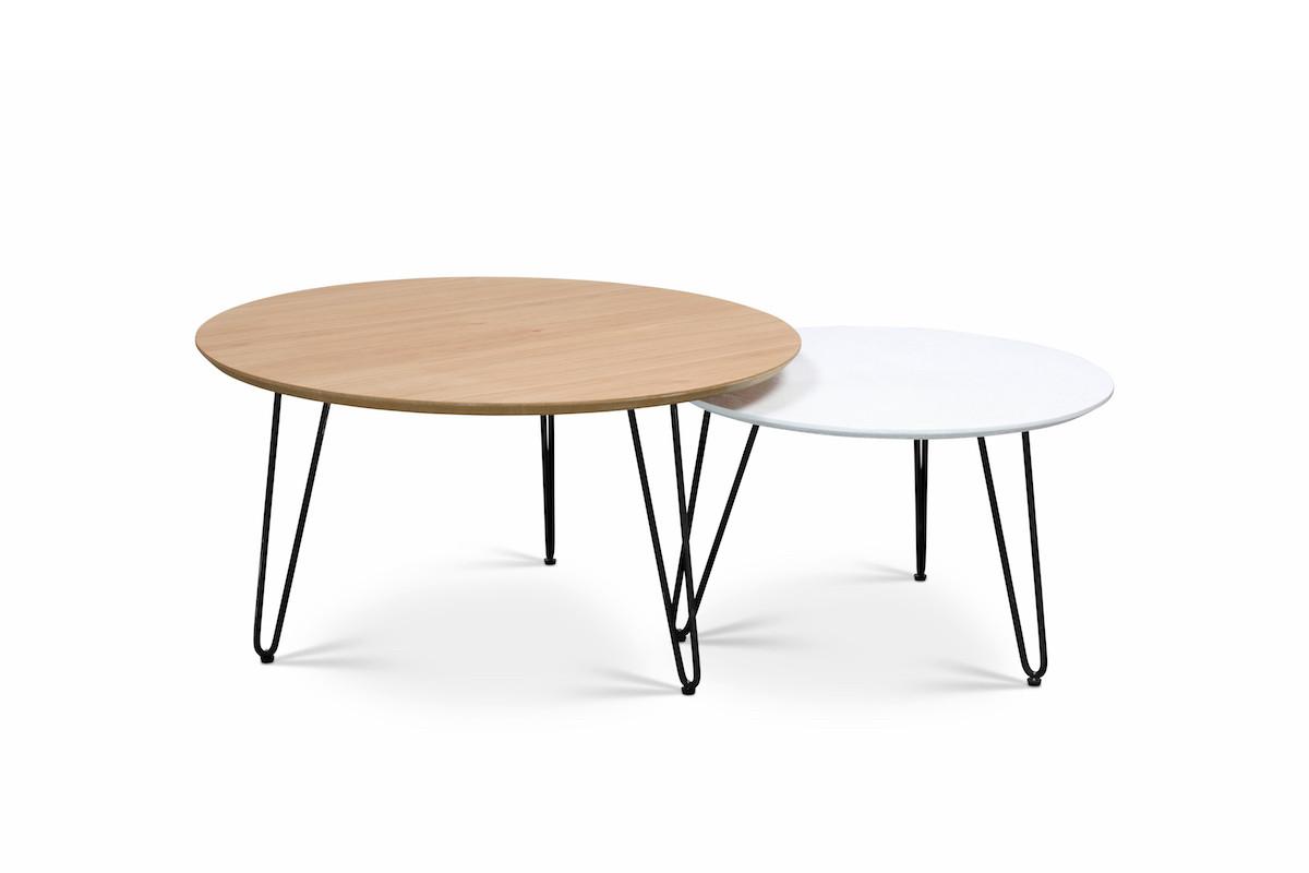 שולחן סלוני עגול סיכה
