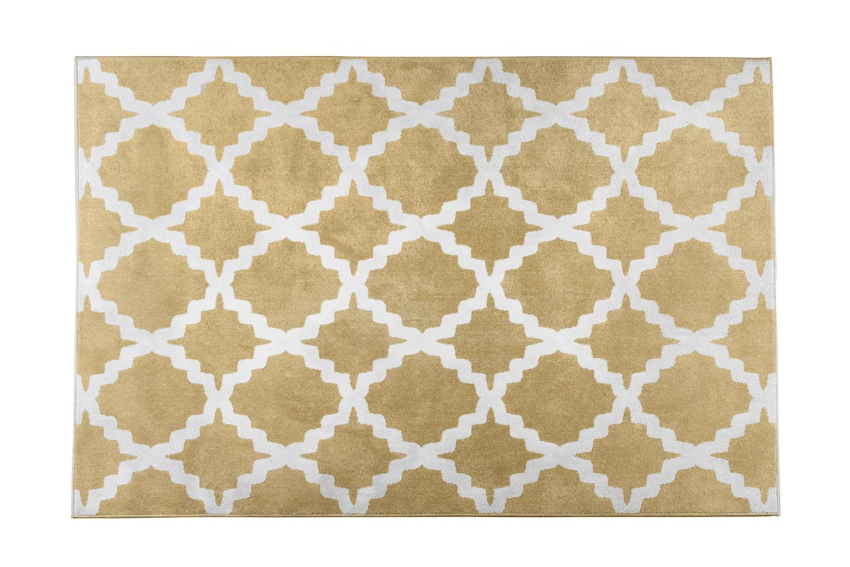 שטיח רשת צהוב
