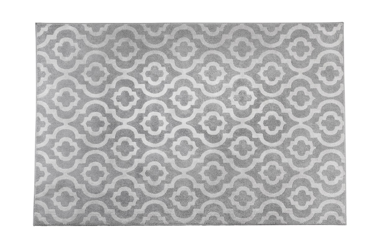 שטיח מרוקו אפור