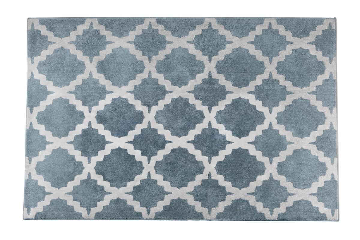 שטיח רשת תכלת