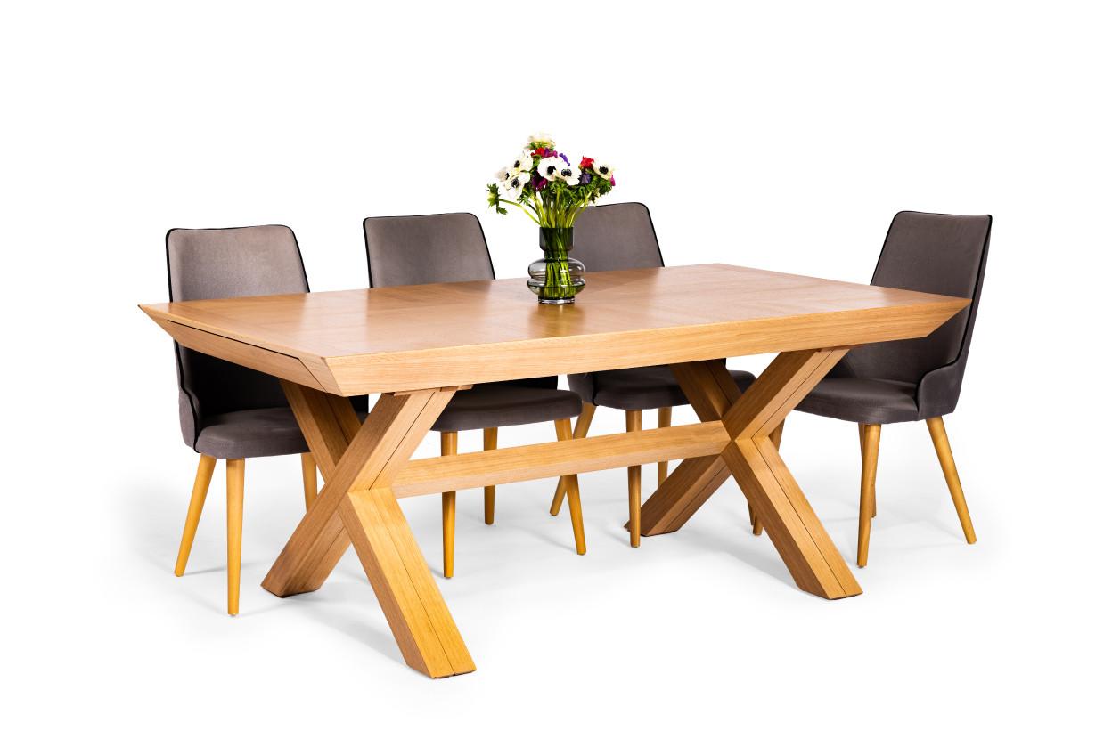 שולחן אוכל טורונטו -16 סועדים וכיסאות רוז
