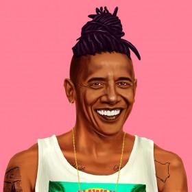אובמה - תמונה היפסטורי