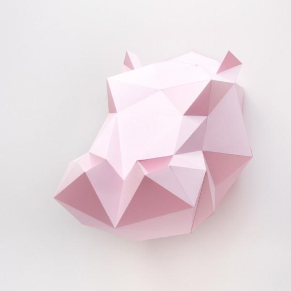קיפולי נייר - היפופוטם
