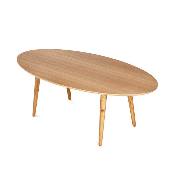 שולחן סלון אליפסה -750 שח