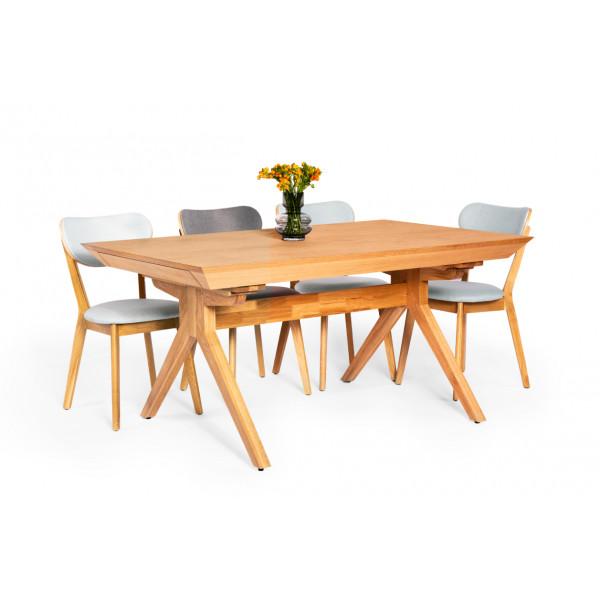 שולחן אוכל מור -14 סועדים וכיסאות סטאר
