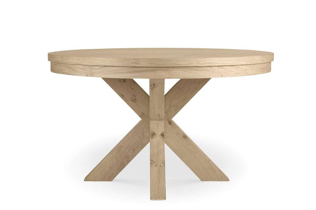 שולחן אוכל עגול חצובה