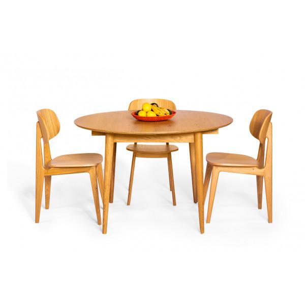 שולחן אוכל גיימס וכיסאות באני
